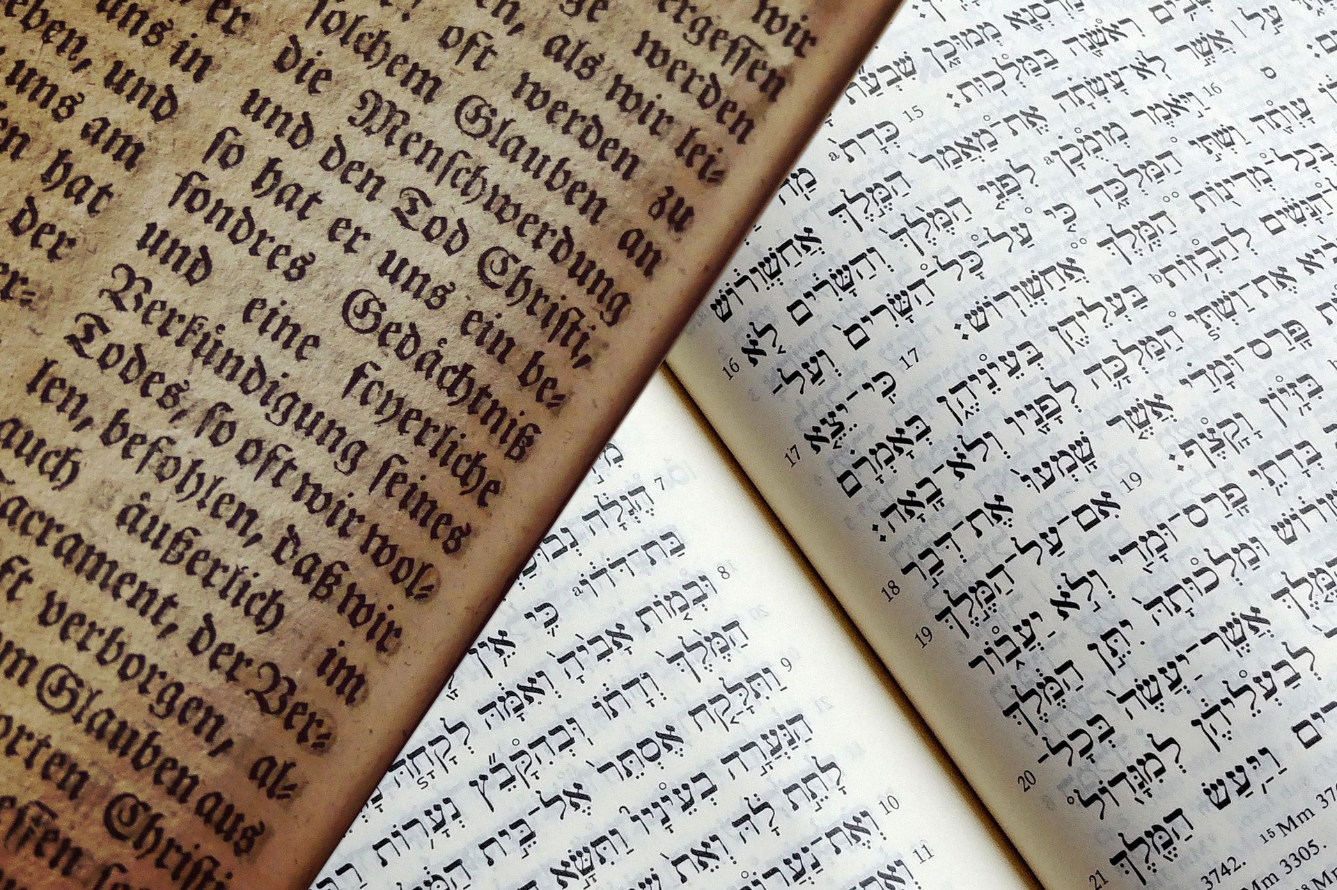 Contextual Displacement in Jewish and Christian Sources