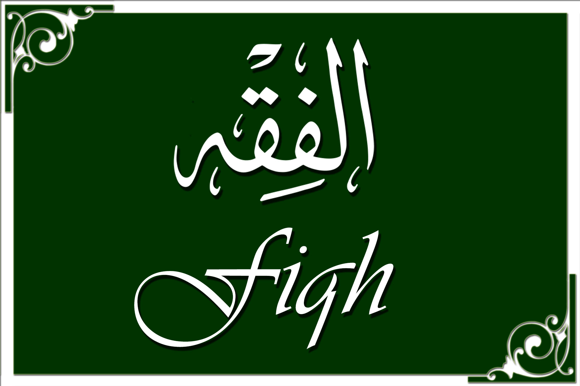 """The Meaning of """"Fiqh"""" in the Qur'an and its Position in Islam"""