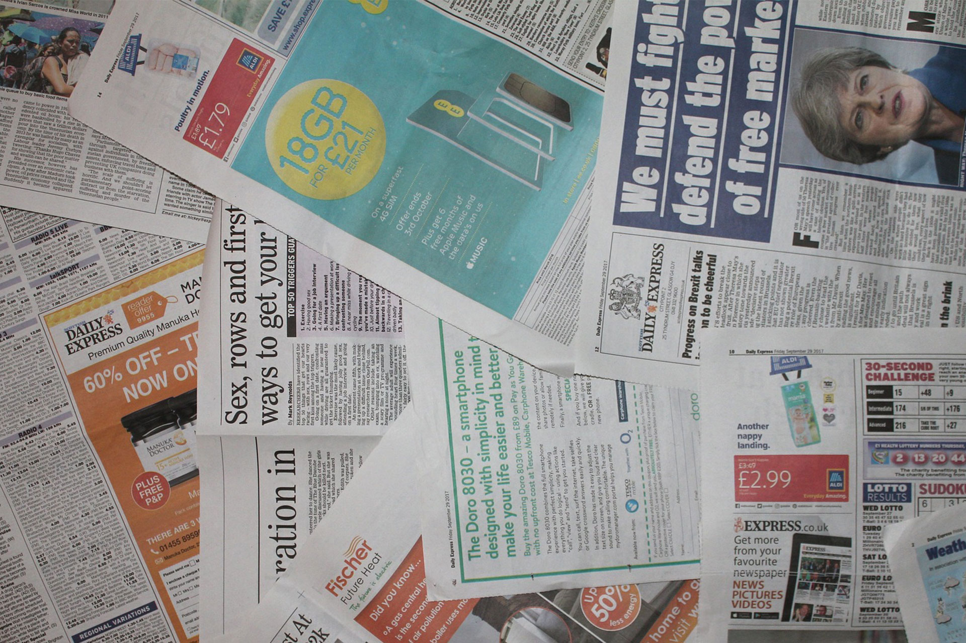 Today's British Media in the Hands of Yesterday's Political Establishment