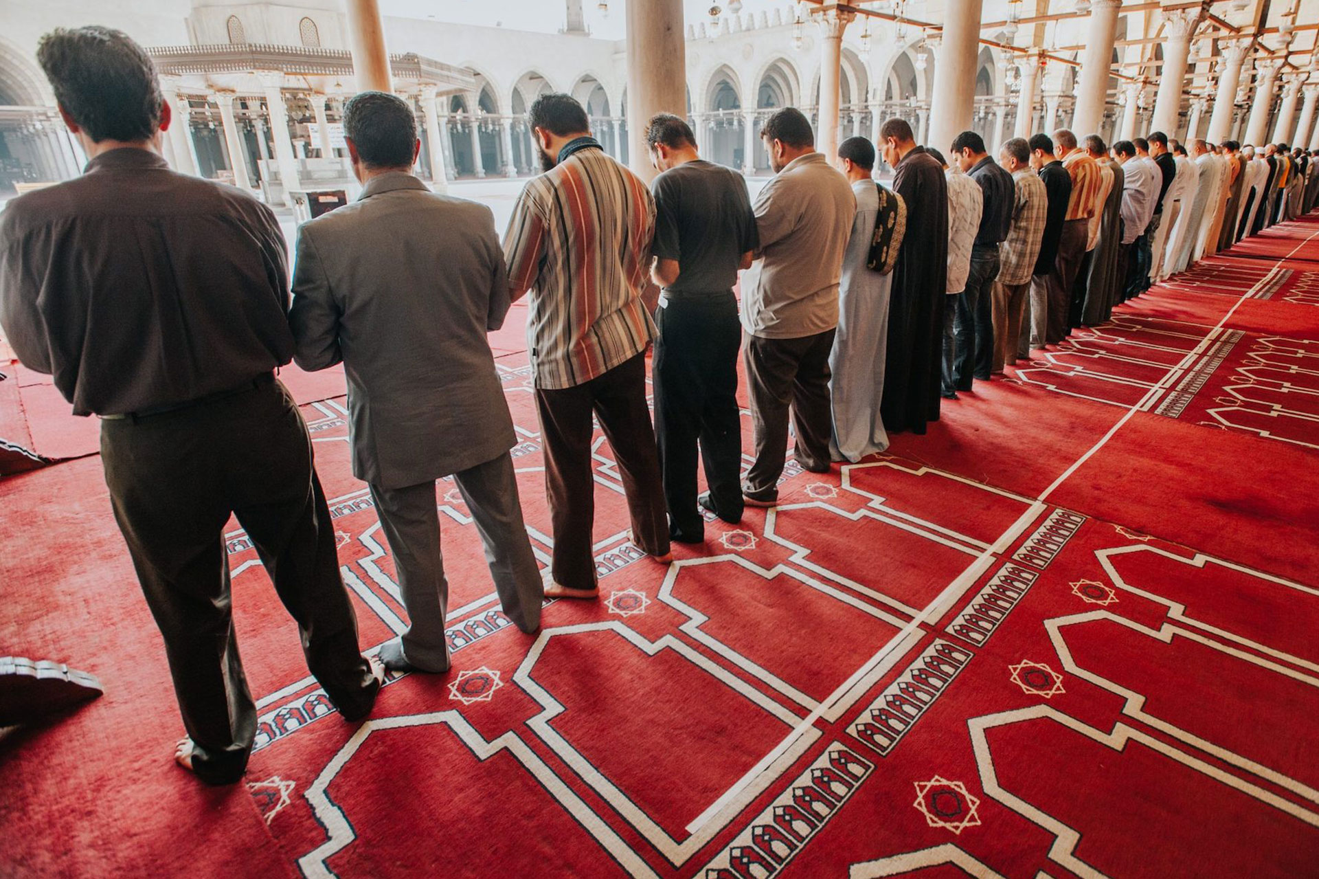 Mind Your Feet, Forget Your Heart: An Illustration of the Predicament of Muslims